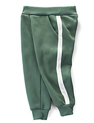 cheap -Kids Boys' Basic Daily Sports Solid Colored Pants Light Green