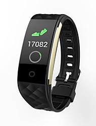 abordables -BoZhuo S2 plus Unisexe Bracelet à puce Android iOS Bluetooth Sportif Imperméable Moniteur de Fréquence Cardiaque Calories brulées Enregistrement de l'activité Chronomètre Podomètre Rappel d'Appel
