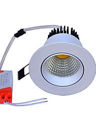 Недорогие -JIAWEN 1шт 7 W 560 lm 1 Светодиодные бусины Простая установка Встроенные Новый дизайн LED даунлайт Тёплый белый Холодный белый Натуральный белый Деловой Дом / офис Гостиная / столовая