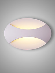 cheap -CONTRACTED LED® Matte LED Modern Contemporary Wall Lamps & Sconces Living Room Bedroom Study Room Office Metal Wall Light 110-120V 220-240V 5 W LED Integrated