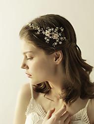 cheap -Imitation Pearl / Alloy Headbands with Crystals / Rhinestones 1 Piece Wedding / Party / Evening Headpiece