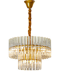 cheap -LWD 9-Light 45 cm Adjustable / New Design Chandelier Metal Crystal Contemporary / LED 110-120V / 220-240V