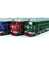 cheap -Toy Trains & Train Sets Train Train Glow Exquisite Parent-Child Interaction Metal Alloy PP+ABS Kids All Toy Gift 1 pcs
