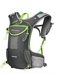 cheap -5 L Hiking Backpack Hydration Backpack Pack Waterproof Breathable Outdoor Hiking Cycling / Bike Nylon Orange Blue Grey