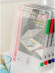 cheap -Plastics Transparent Body Home Organization, 1pc Folders & Filing / Storage Bag / Desktop Organizers