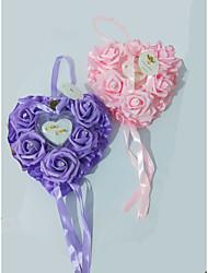 cheap -Foam Heart / Ribbons / Flower Plastic Ring Pillow Beach Theme / Garden Theme / Butterfly Theme All Seasons