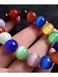 cheap -Women's Bead Bracelet Vintage Bracelet Classic Beads Creative Ladies Stylish Asian Classic Ethnic Cord Bracelet Jewelry Rainbow For Daily Date