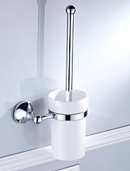 cheap -Toilet Brush Holder New Design / Cool Contemporary Stainless Steel / Iron 1pc Toilet Brush Holder Wall Mounted
