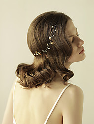 cheap -Imitation Pearl Headbands with Imitation Pearl / Crystals / Rhinestones 1 Piece Wedding / Party / Evening Headpiece