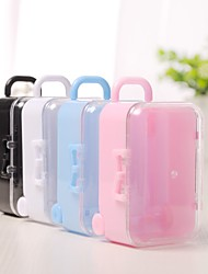 cheap -irregular Plastic Favor Holder with Split Joint Favor Boxes - 12pcs