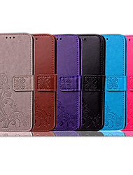 cheap -Case For Apple iPhone X Card Holder / Flip Full Body Cases Solid Colored / Mandala Soft PU Leather for iPhone X