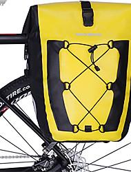 abordables -ROCKBROS 27 L Sacoche Double Velo / Sac de Porte-Bagage Réfléchissant Grande Capacité Etanche Sac de Vélo TPU Sac de Cyclisme Sacoche de Vélo Vélo de Route Equitation Voyage / Imperméable