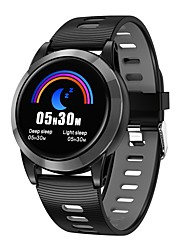 cheap -Indear R15 Men Smart Bracelet Smartwatch Android iOS Bluetooth Heart Rate Monitor Touch Screen Calories Burned Distance Tracking Information Pedometer Call Reminder Activity Tracker Sleep Tracker