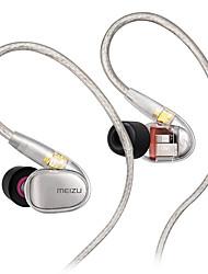 Недорогие -MEIZU EP71 Наушники-вкладыши Кабель С микрофоном Мобильный телефон