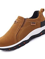 Недорогие -Муж. Комфортная обувь Полиуретан Осень Спортивная обувь Для прогулок Черный / Темно-серый / Хаки