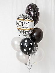 Недорогие -Воздушный шар Латекс 10 шт. День рождения