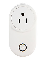 cheap -WETO W-T03 US WiFi Smart Plug for Smart Home Remote Control Works With Alexa Google Home Timer Socket for iOS Android