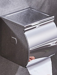 cheap -Toilet Paper Holder New Design Stainless Steel Mobile Phone Storage Shelf Wall Mounted Silvery 1pc