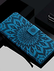 cheap -Case For Samsung Galaxy S9 / S9 Plus / S8 Plus Wallet / Card Holder / with Stand Full Body Cases Flower Hard PU Leather