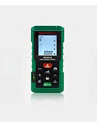 Недорогие -mastech ms6414 цифровой лазерный дальномер точность лазерный дальномер 40 м +/- 2 мм площадь объем лента измерительный инструмент измерения расстояния