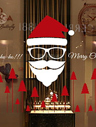 cheap -Window Film & Stickers Decoration Contemporary / Christmas Simple / Holiday PVC(PolyVinyl Chloride) Cool