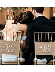 cheap -Unique Wedding Décor Cloth Demin Wedding Decorations Wedding / Engagement Beach Theme / Garden Theme / Wedding All Seasons