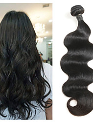 cheap -1 Bundle Peruvian Hair Body Wave Remy Human Hair Human Hair Extensions 8-30 inch Human Hair Weaves Soft Best Quality New Arrival Human Hair Extensions / 10A