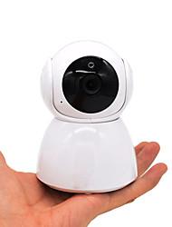 abordables -hqcam® hd 1080p dôme wifi intérieur pour maison caméra ip v380 moniteur de bébé sans fil h.265 fente de mémoire pour caméra cctv