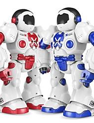 cheap -RC Robot XINGYUCHUANQI 2.4G PP+ABS Forward / Backward / Programmable / Multifunctional NO