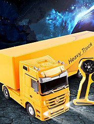 cheap -RC Car 1101 6CH 2.4G Truck / Construction Truck 1:32 2 km/h Remote Control / RC / Sound / Remote-Controlled