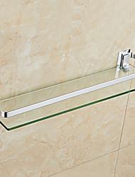 Недорогие -Полка для ванной Новый дизайн / Cool Modern стекло / Нержавеющая сталь / железо 1шт На стену