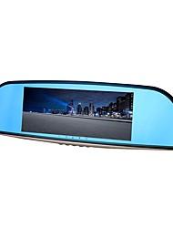 Недорогие -ziqiao xr701 full hd 1080p 7 дюймов ips ночного видения автомобильный видеорегистратор 140 градусов широкоугольный cmos
