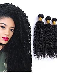 cheap -4 Bundles Vietnamese Hair Kinky Human Hair Natural Color Hair Weaves / Hair Bulk Extension Bundle Hair 8-28 inch Natural Color Human Hair Weaves Women Extention New Arrival Human Hair Extensions / 8A