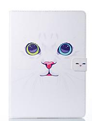 cheap -Case For Apple iPad Mini 5 / iPad New Air(2019) / iPad Air Card Holder / with Stand / Flip Full Body Cases Cat Hard PU Leather / iPad Pro 10.5 / iPad (2017)
