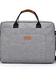 cheap -Canvas Zipper Laptop Bag Daily Black / Red / Gray