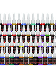 cheap -solong tattoo ink 54 colors set 8ml bottle tattoo pigment kit