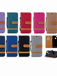 cheap -Case For Huawei Huawei P20 / Huawei P20 Pro / Huawei P20 lite Wallet / Card Holder / with Stand Full Body Cases Solid Colored Hard Textile / P10 Plus / P10 Lite / P10