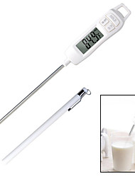 cheap -Digital Thermometer Kitchen Meat Needle Thermometer Electronic Food BBQ Cooking Drinking Thermometers HY42