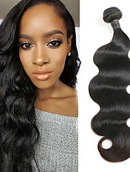 cheap -1 Bundle Indian Hair Body Wave Remy Human Hair Human Hair Extensions 8-30 inch Human Hair Weaves Soft Best Quality New Arrival Human Hair Extensions / 10A