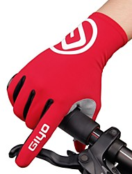 cheap -Winter Bike Gloves / Cycling Gloves Mountain Bike Gloves Mountain Bike MTB Road Bike Cycling Anti-Slip Thermal Warm Breathable Sweat-wicking Full Finger Gloves Sports Gloves Terry Cloth Lycra