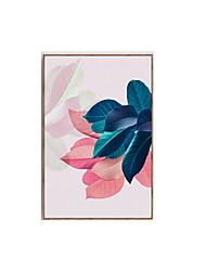 cheap -Framed Oil Painting - Still Life Wood Illustration Wall Art