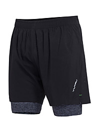 cheap -Men's Running Shorts 2 in 1 Sports Shorts Fitness Gym Workout Training Breathable Quick Dry Plus Size Fashion / High Elasticity