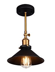 cheap -1-Light 22 cm Adjustable Flush Mount Lights Metal Painted Finishes Antique / Retro Vintage 110-120V / 220-240V