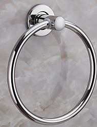 cheap -Towel Bar New Design / Cool Contemporary Stainless Steel / Iron 1pc towel ring Wall Mounted