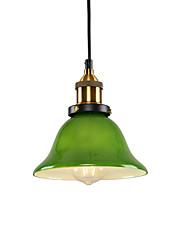 Недорогие -северная Европа современный мини стеклянный кулон свет винтажная творческая гостиная столовая прихожая кафе подвеска лампа