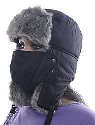 cheap -Men's Women's Chapka Hat Fur Hat Winter Sports Thermal / Warm Polyester Pollution Protection Mask Hat Ski Wear