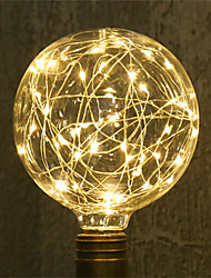 cheap -1pc 3 W LED Filament Bulbs 200-300 lm E26 / E27 G95 33 LED Beads SMD Decorative Christmas Wedding Decoration Copper Wire Light Warm White 85-265 V / RoHS / CE Certified