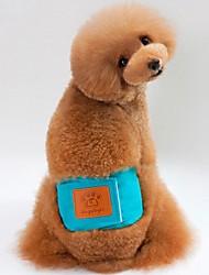 cheap -Dogs Cats Pants Dog Clothes Orange Green Blue Costume Pug Bichon Frise Schnauzer Cotton Solid Colored Unique Design S M L XL