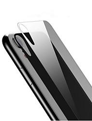 Недорогие -AppleScreen ProtectoriPhone XR HD Защитная пленка для задней панели 1 ед. Закаленное стекло