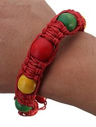 Недорогие -Переносной браслет ручной работы из бисера труба браслет из сплава для струнных браслетов для курения ямайка раста трубочка